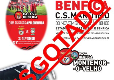Excursão: Benfica - Marítimo