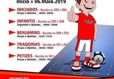 Treinos de Captação de Futsal