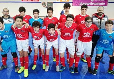 Meias-finais da Taça de Iniciados de Futsal