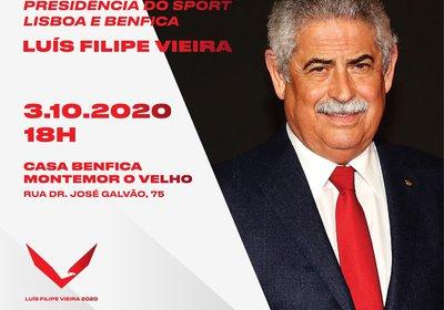 Luís Filipe Vieira realiza Sessão de Esclarecimento em Montemor-o-Velho
