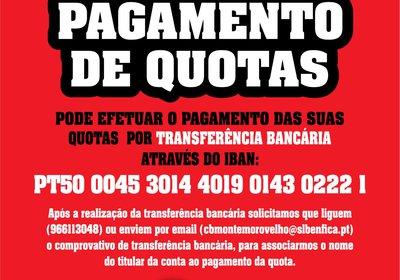 Pagamento de Quotas