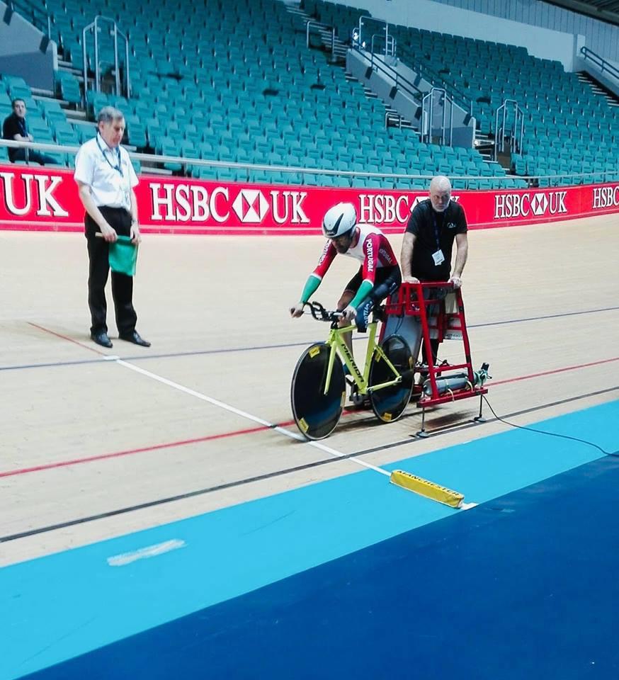 Telmo Pinão no Campeonato do Mundo de Paraciclismo