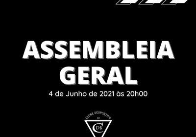 Convocatória: Assembleia Geral 2021