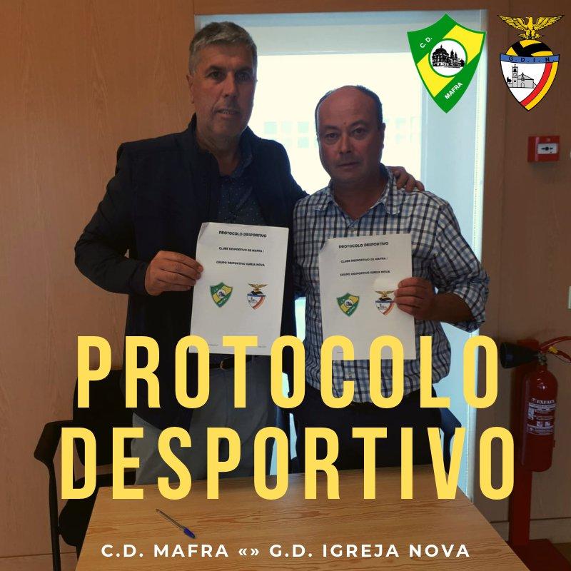 PROTOCOLO - CD MAFRA e GD IGREJA NOVA