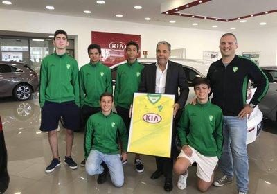 KIA MOTORS PORTUGAL renova patrocínio com iniciados.