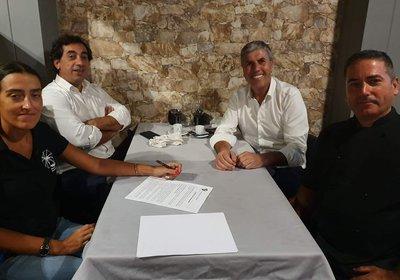 RESTAURANTE MOINHO IBÉRICO renova patrocínio com os Juniores.