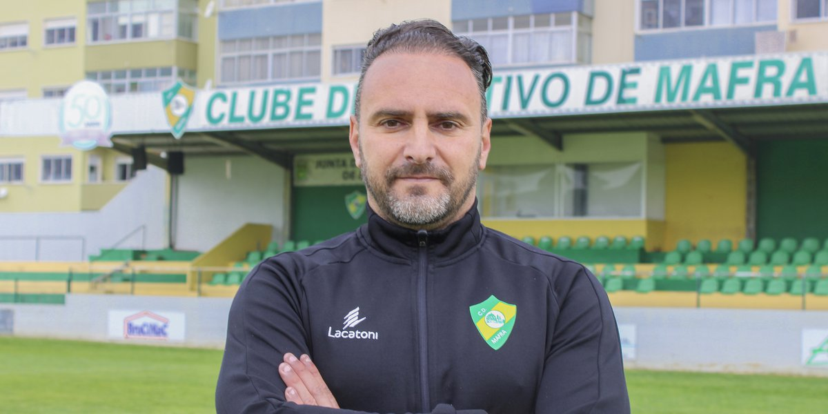 Ricardo Sousa é o novo treinador do CD Mafra