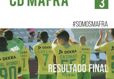 CD MAFRA segue em frente na Taça de Portugal
