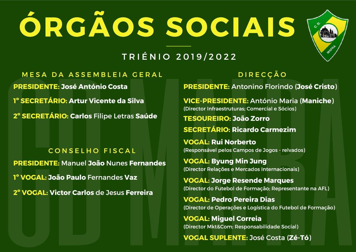 ÓRGÃOS SOCIAIS