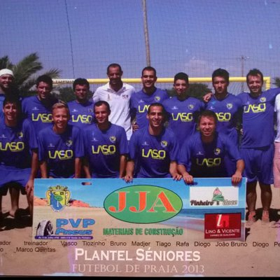 Equipa Futebol Praia 2013