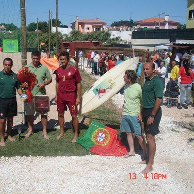 Inauguração Campo Futebol Praia 2008