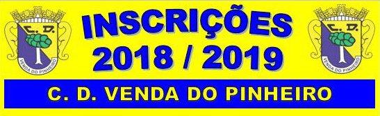 Inscrições 2018/2019