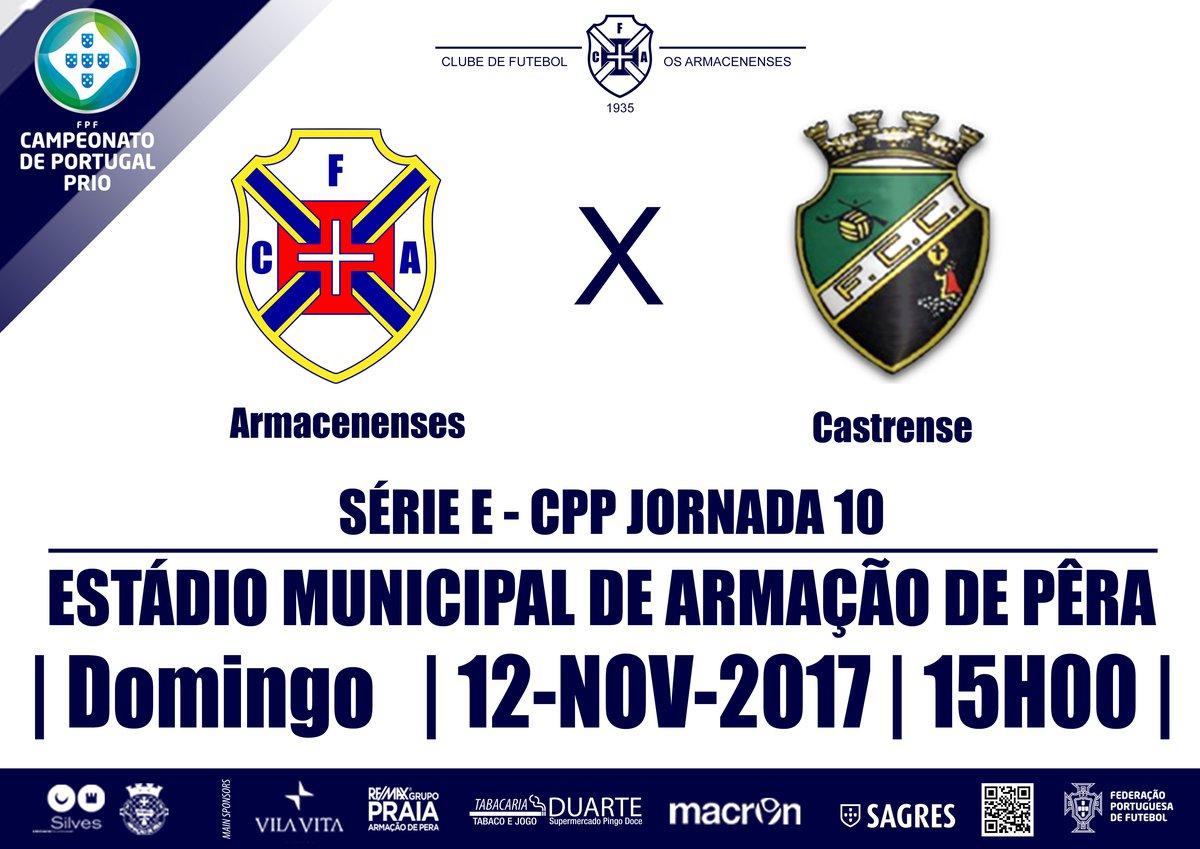 Campeonato de Portugal SE 2017/18 - Jornada 10