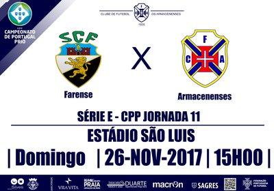 Campeonato de Portugal SE 2017/18 - Jornada 11