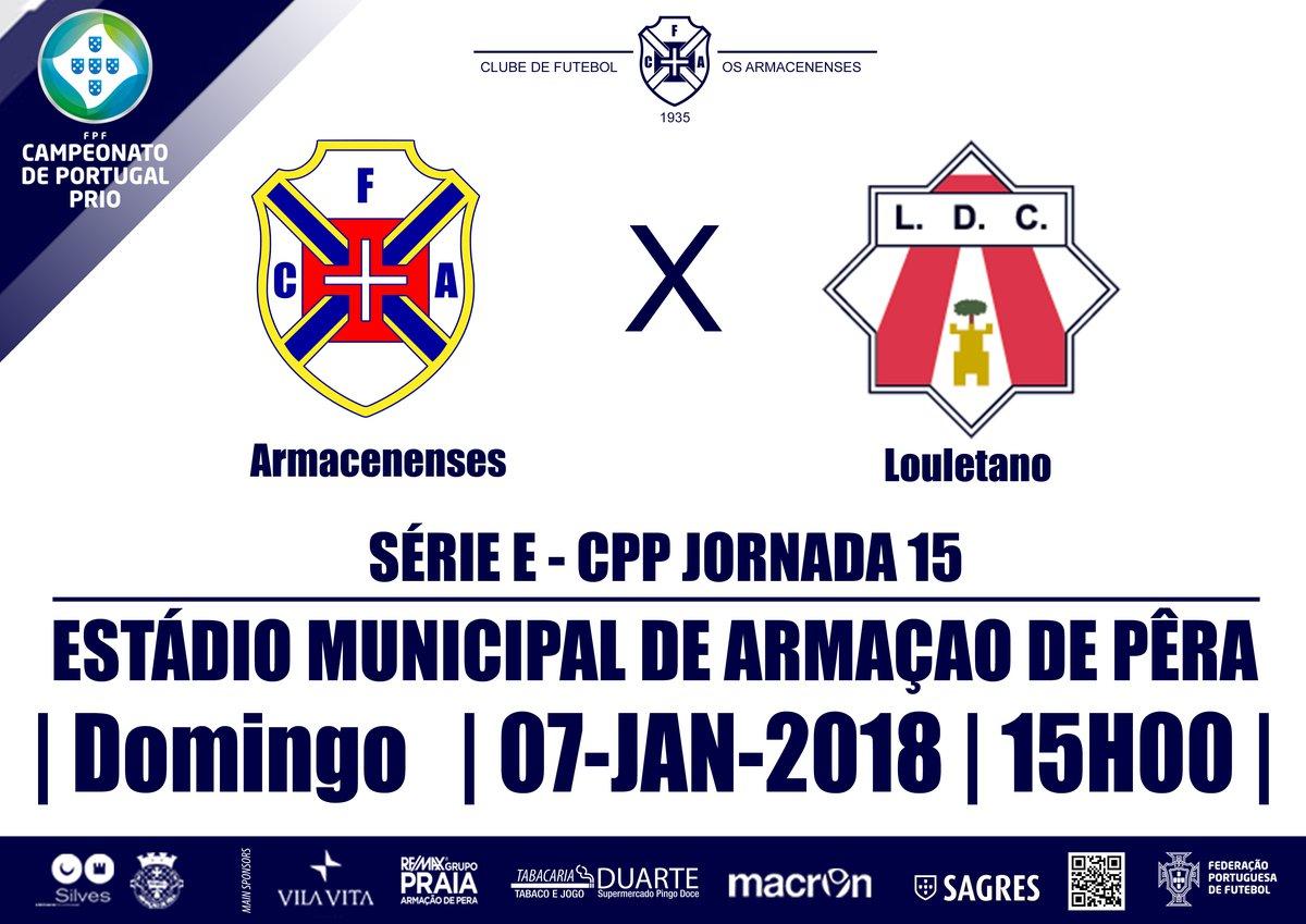 Campeonato de Portugal SE 2017/18 - Jornada 15