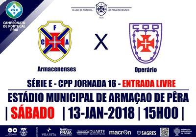 CAMPEONATO DE PORTUGAL SE 2017/18 - JORNADA 16