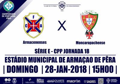 CAMPEONATO DE PORTUGAL SE 2017/18 - JORNADA 18