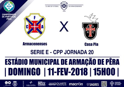 Campeonato Portugal Prio - Seríe E Jornada 20
