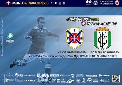 Jornada 4 - CPP | CF Armacenenses x GD Fabril