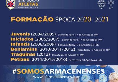 Formação - Época 2020 / 2021