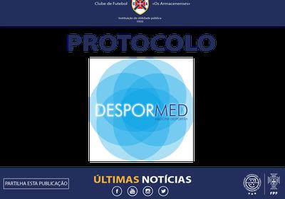 Assinado protocolo de Medicina Desportiva
