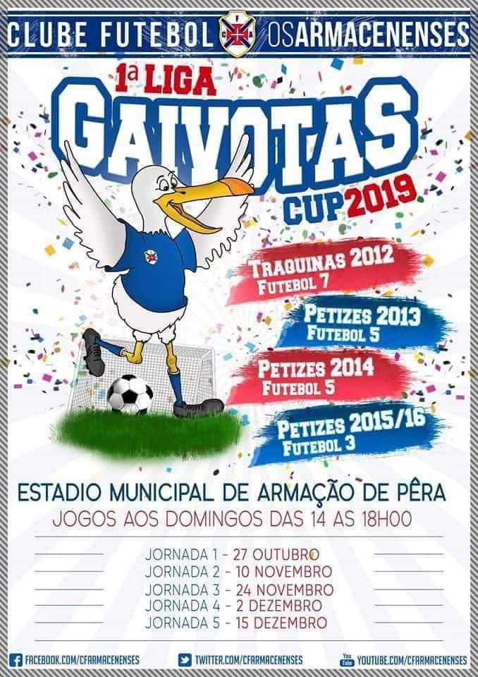 1 Liga Gaivotas Cup 2019