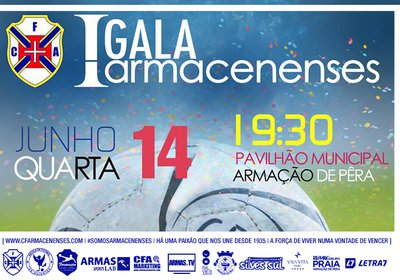 "Clube realiza a primeira gala ""ARMACENENSES"""