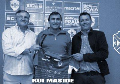 Rui Maside é o treinador escolhido
