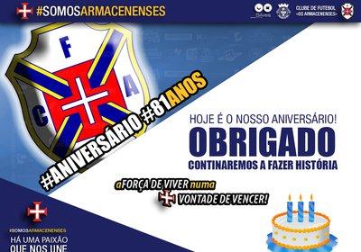 #SOMOSARMACENSES | 81 ANOS DE HISTÓRIA