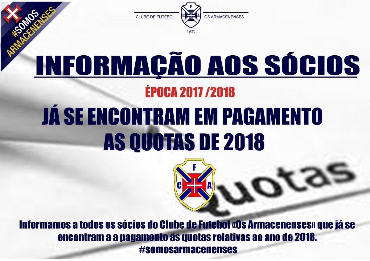 Quotas 2018 a Pagamento