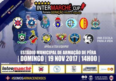 Torneio Intermarché cup. // 19 de Novembro // Estádio Municipal de Armação de Pêra // A partir das 14H00 Equipas partici