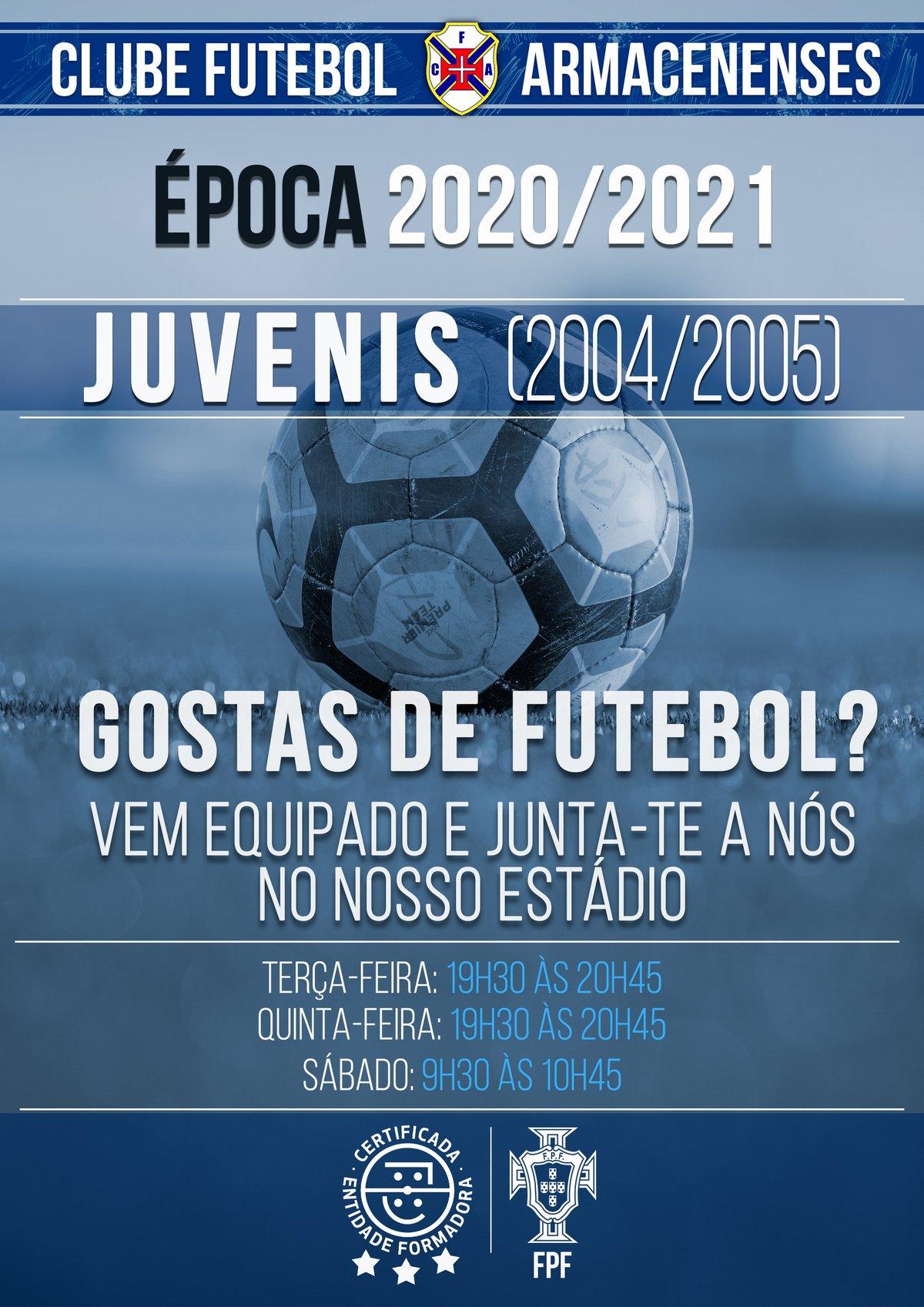 Juvenis // Estamos de volta 2020-2021
