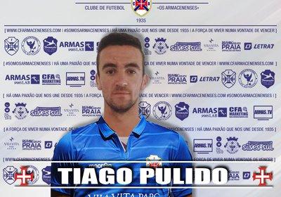 TIAGO PULIDO É REFORÇO