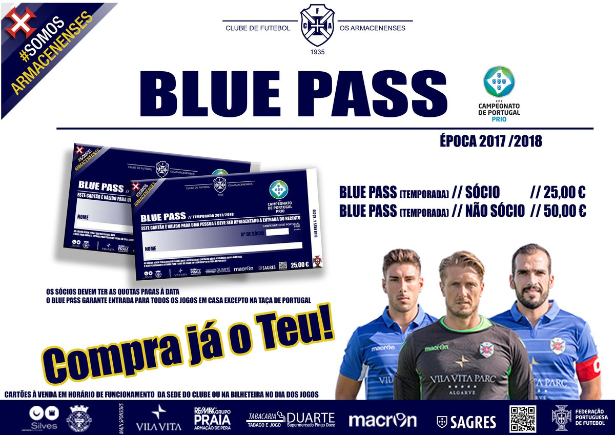 Blue Pass - Bilhete de época