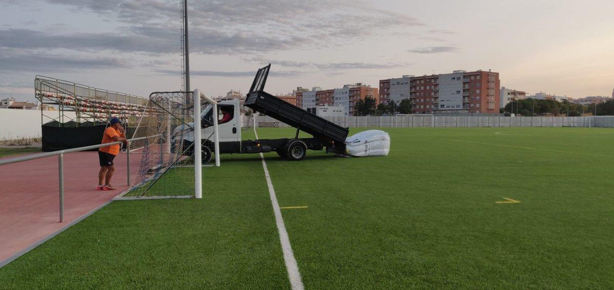 Município de Silves inicia trabalhos no Estádio Municipal de Armação de Pêra