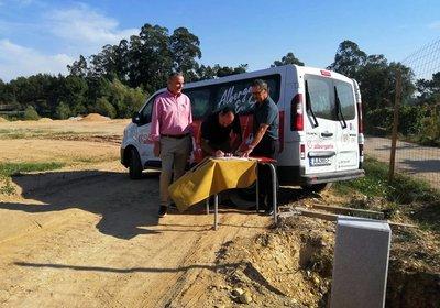 António Loureiro e Jorge Lemos visitam futuro Centro de Formação e Treino