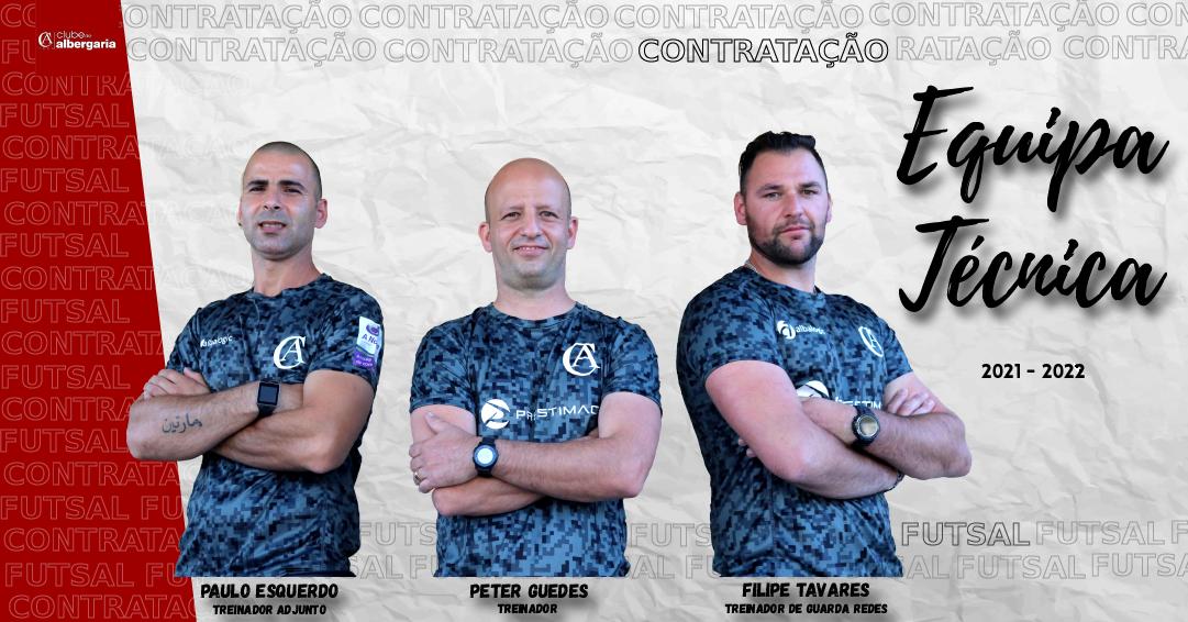Peter Guedes é o novo treinador da equipa sénior de Futsal