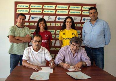Grupo Durit mantém aposta no Futebol Feminino