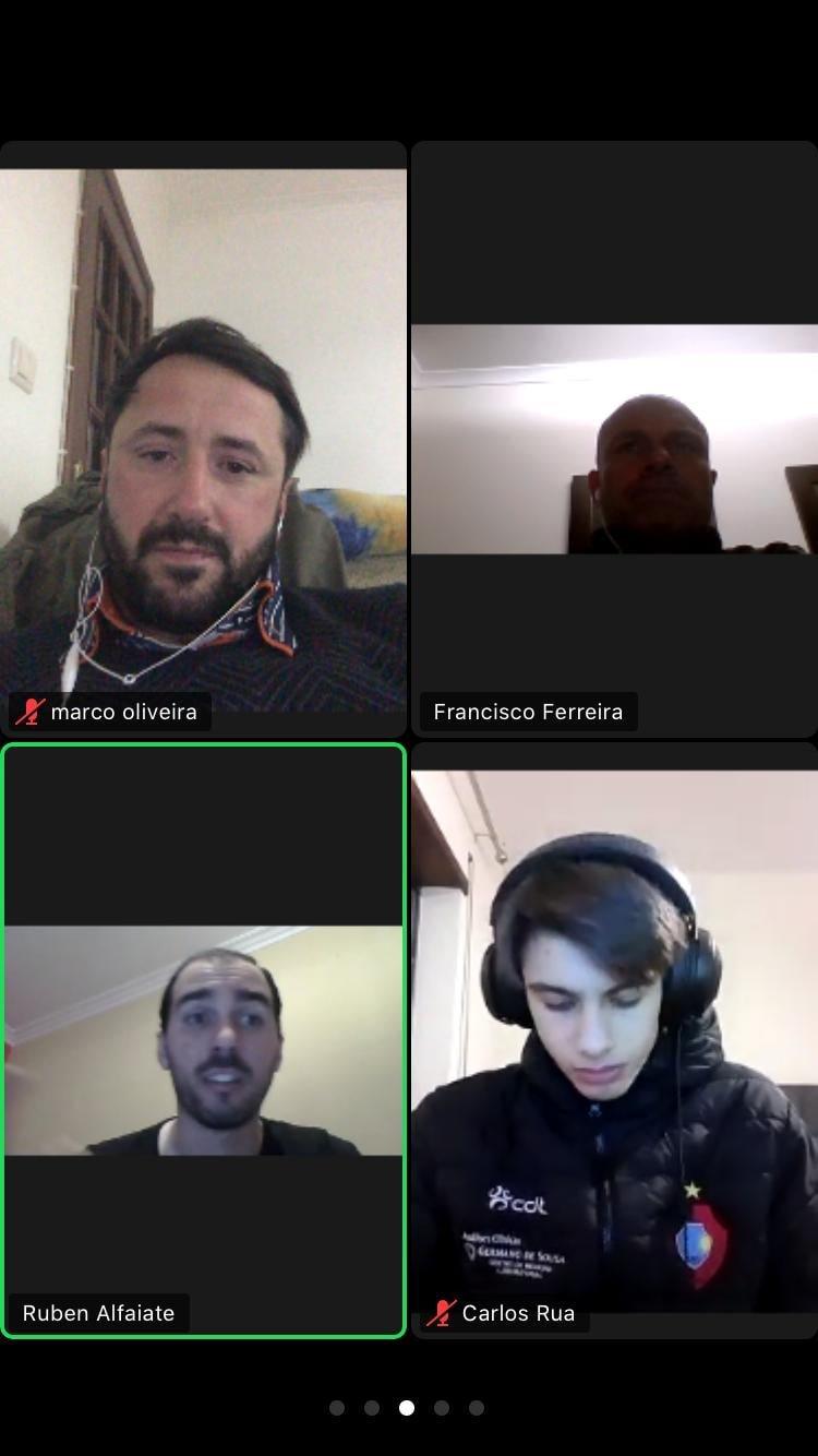 Os nossos Guarda-redes estiveram à conversa com o Ruben Alfaiate.