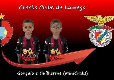 Mini Cracks, recrutados para o Sport Lisboa e Benfica