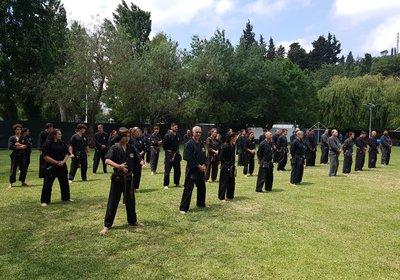 Secção de Kenpo participou no Campeonato de bastão do Museu Militar
