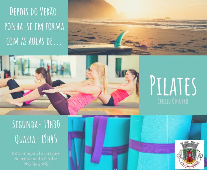 Fique em forma! Venha praticar pilates no CRDA!