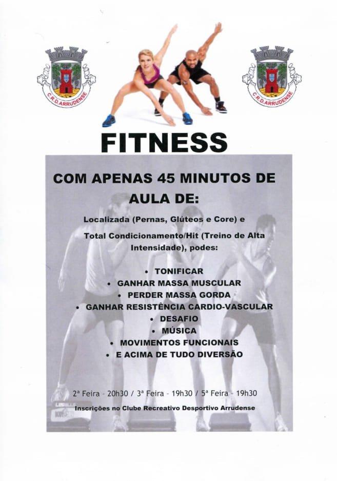 Fitness - vem manter-te em forma!