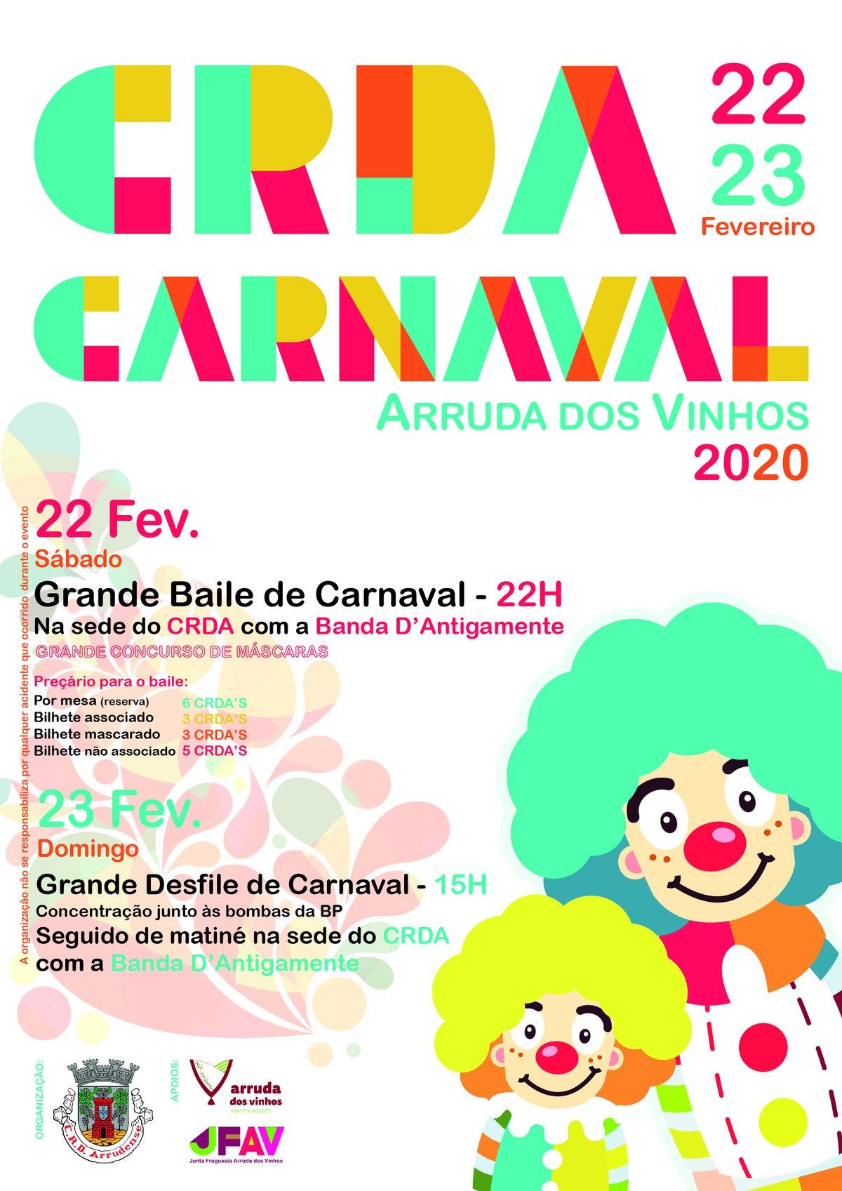 CARNAVAL ARRUDA DOS VINHOS 2020