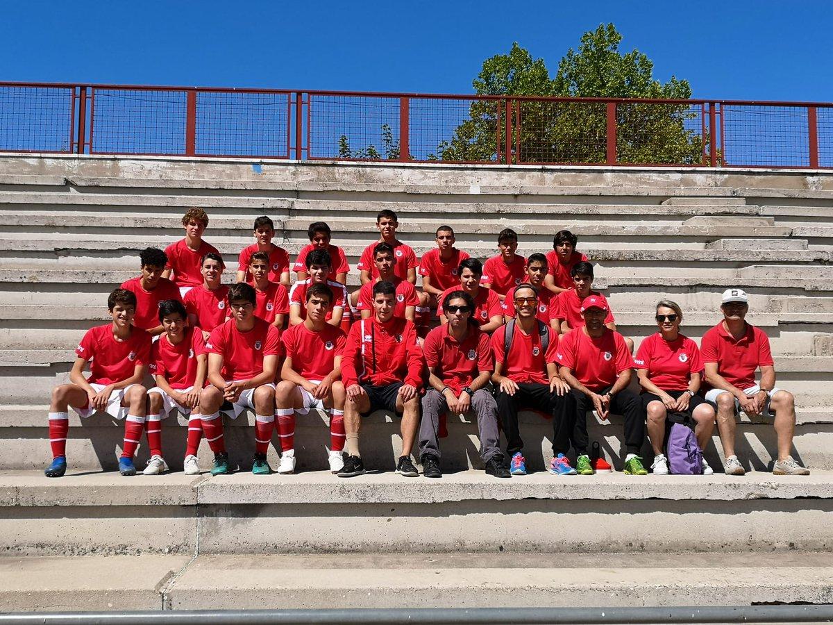 Sub 15 e sub 16 em Miajadas (Espanha)
