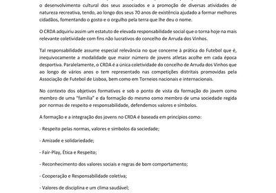 Regulamento Interno Futebol