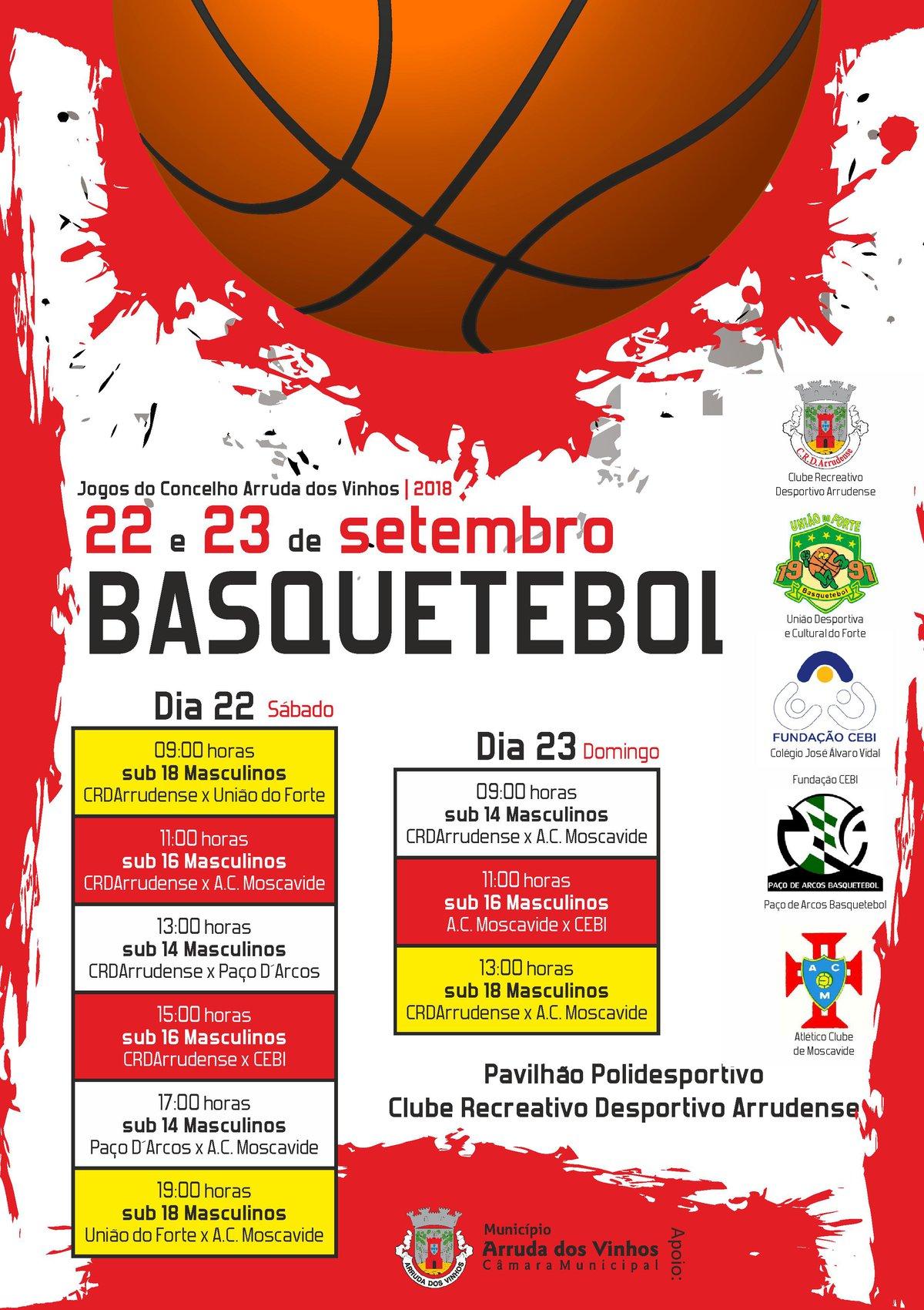 Jogos do concelho - Basquetebol