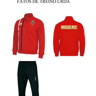 FATOS DE TREINO ATLETAS CRDA