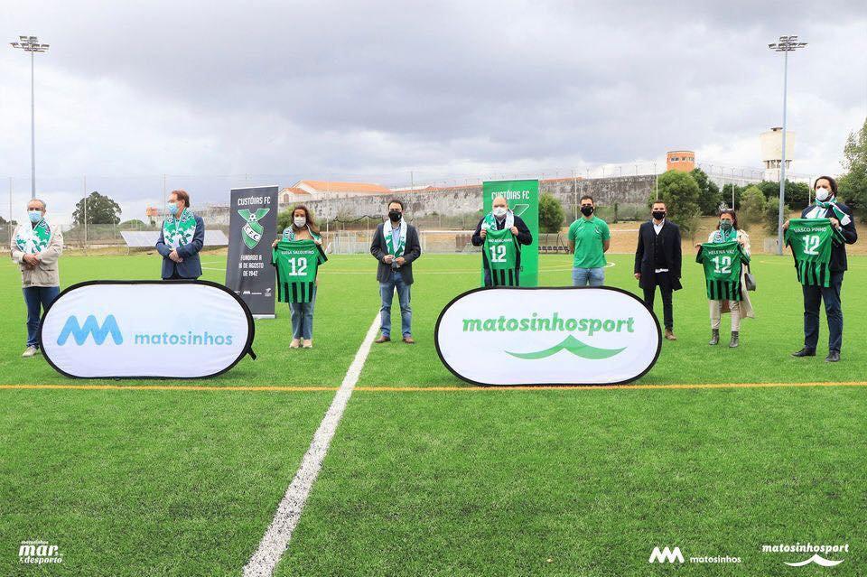 Inauguração das obras de Requalificação do Complexo Desportivo Municipal de Custóias