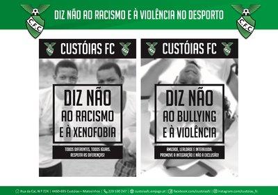 Diz Não ao Racismo e à Violência no Desporto